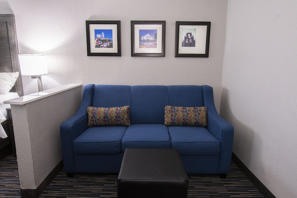 Living Room, Comfort Inn and Suites Near Medical Center