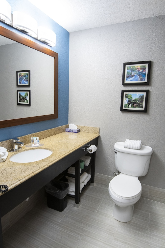 Bathroom, Comfort Inn and Suites Near Medical Center
