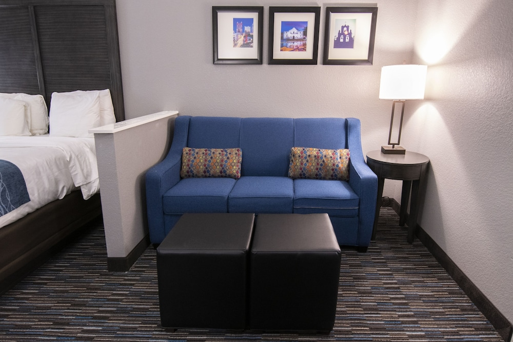 Living Area, Comfort Inn and Suites Near Medical Center