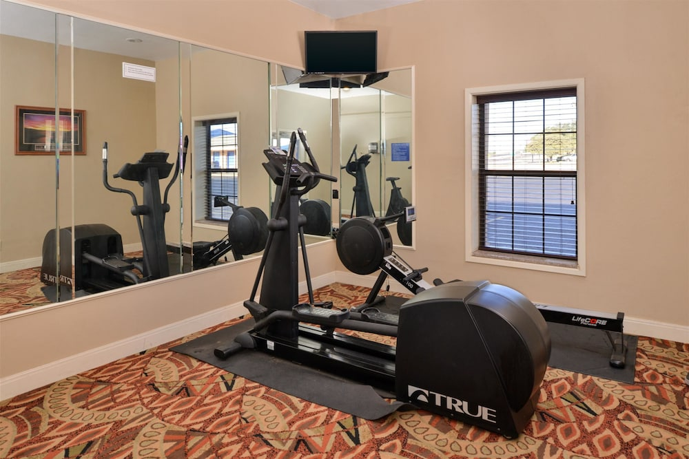 Fitness Facility, Americas Best Value Inn Lubbock E