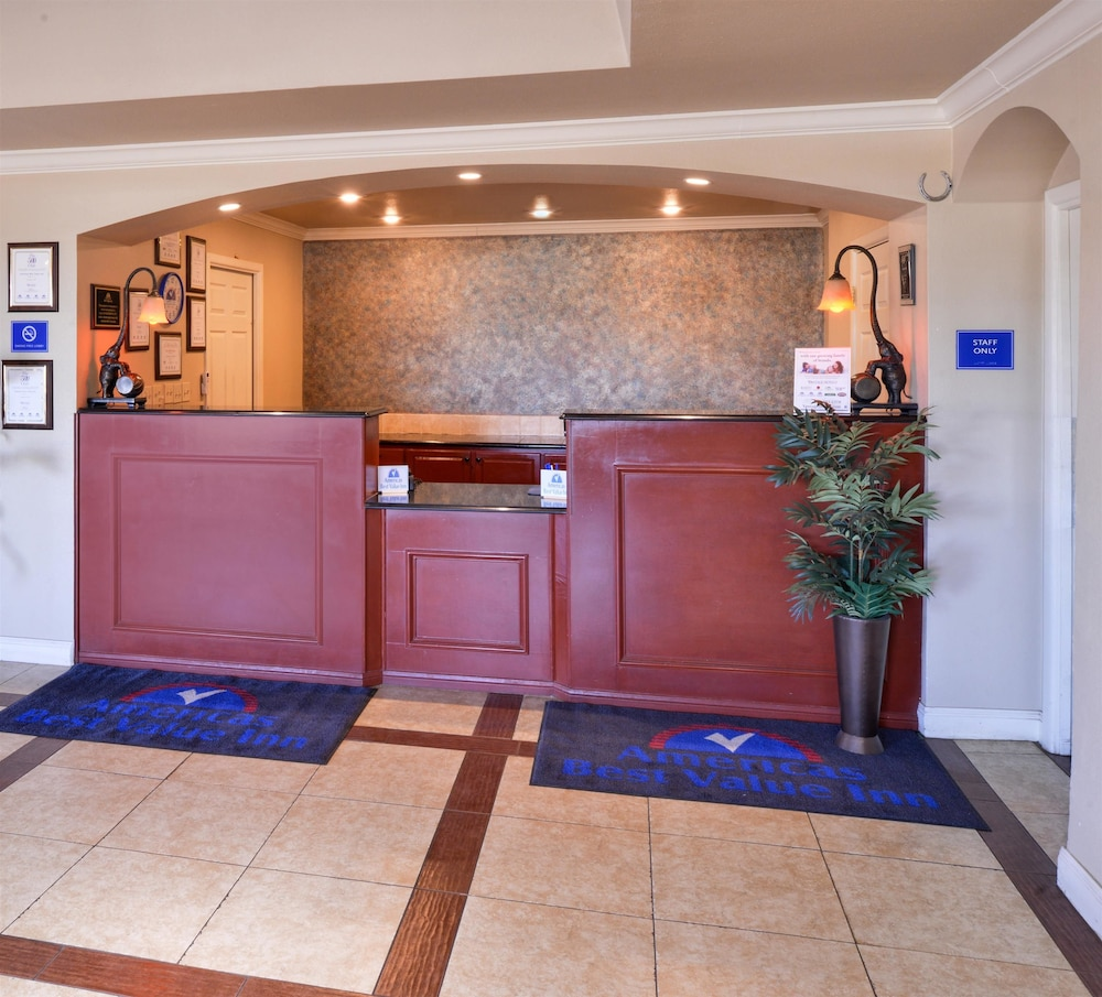 Reception, Americas Best Value Inn Lubbock E