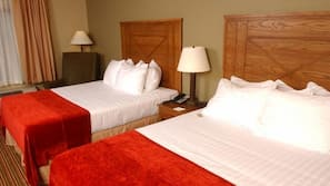 In-room safe, iron/ironing board, cribs/infant beds, Internet