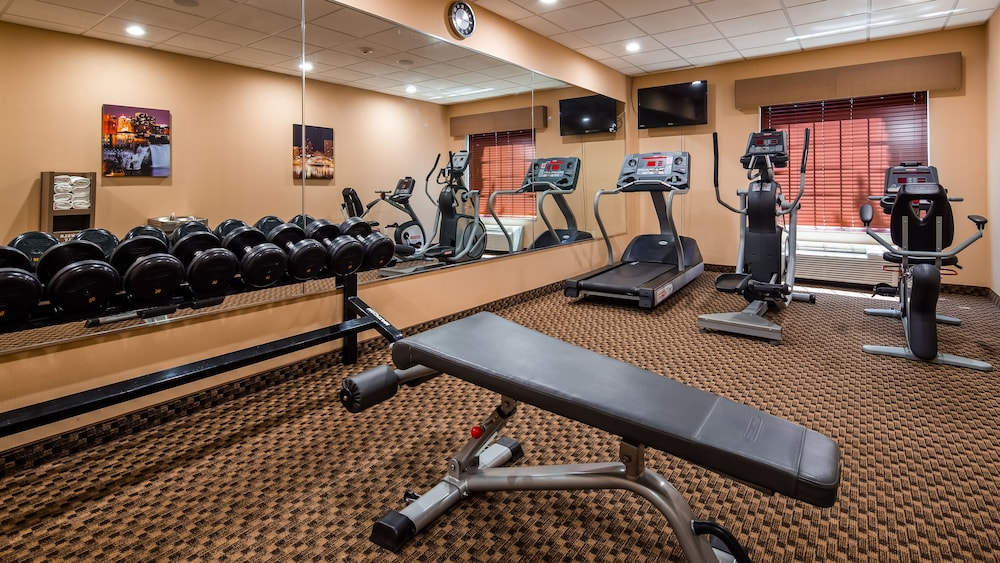 Fitness Facility, Best Western Plus Victor Inn & Suites