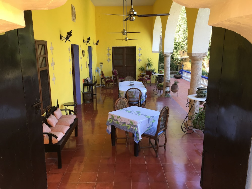 Breakfast Area, Hacienda San Pedro Nohpat