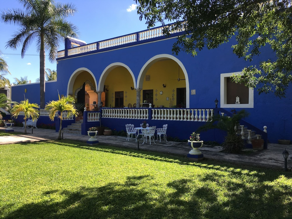 Front of Property, Hacienda San Pedro Nohpat