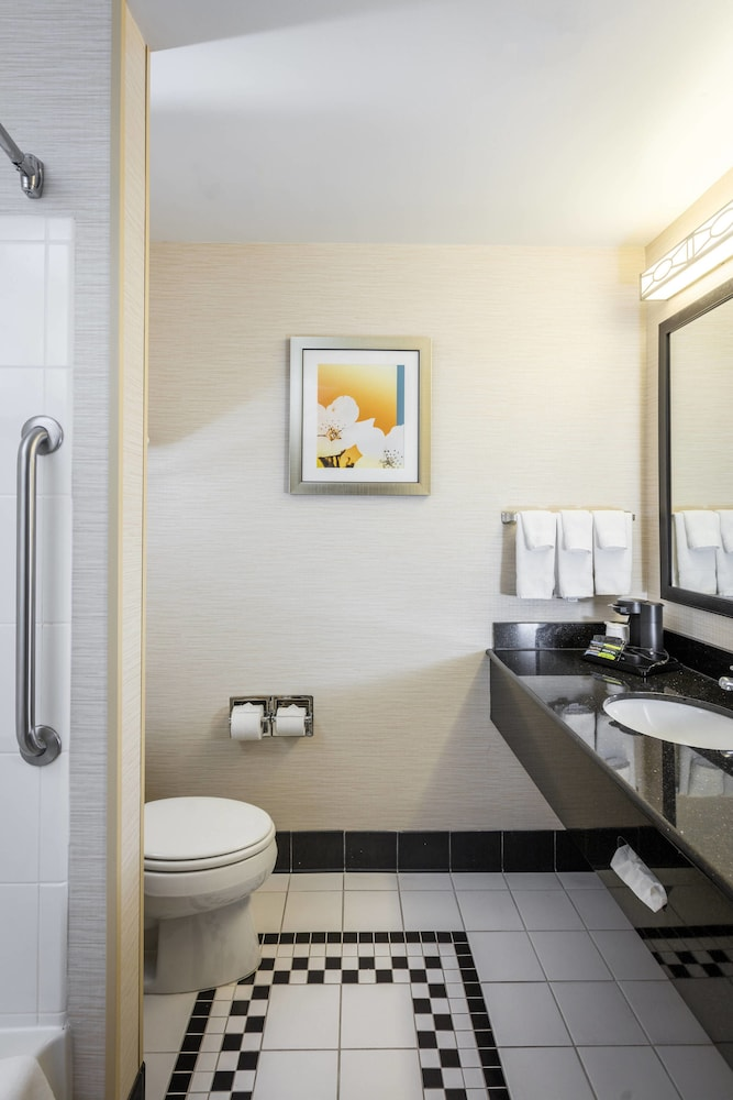 Bathroom, Fairfield Inn & Suites by Marriott Auburn Opelika