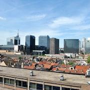 Uitzicht vanaf hotel