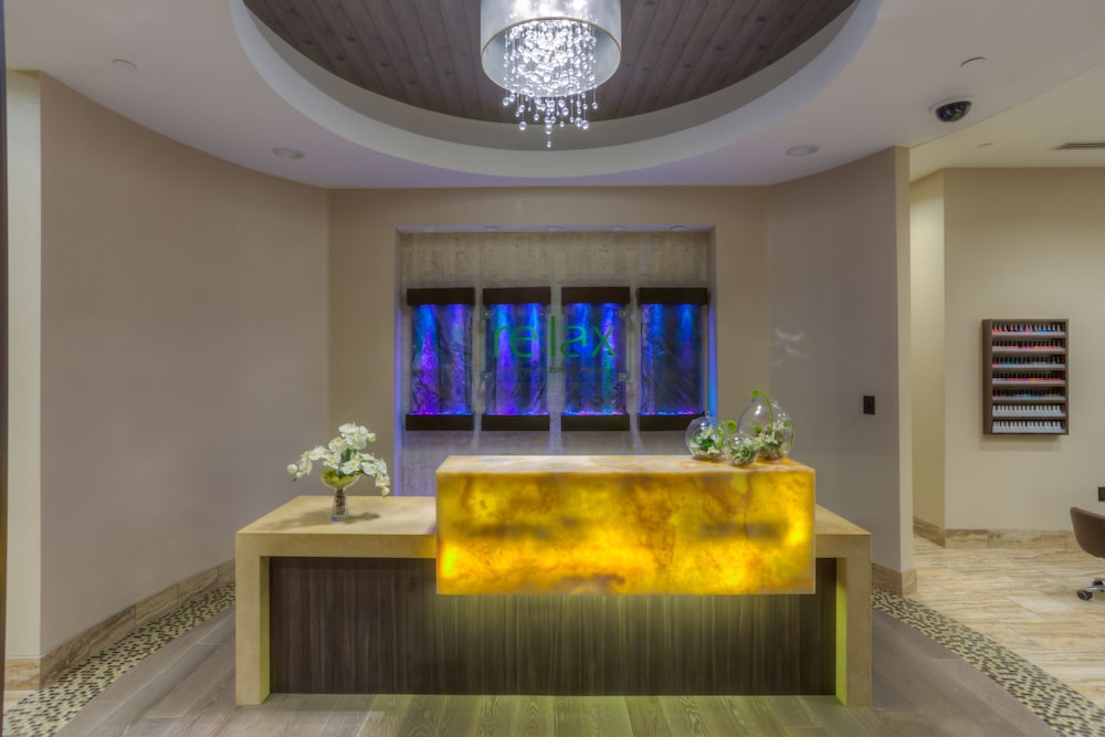 Spa Reception, Aliante Casino & Hotel
