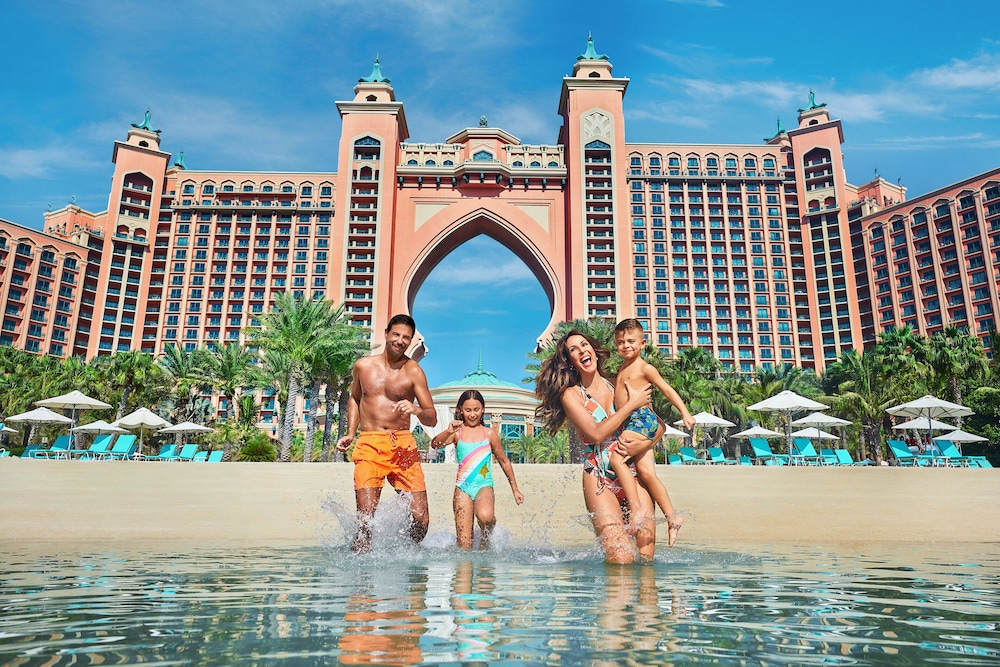 Beach, Atlantis The Palm