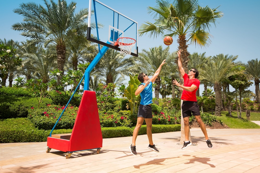 Basketball Court, Atlantis The Palm