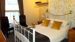 Premium bedding, pillow-top beds, iron/ironing board, free WiFi