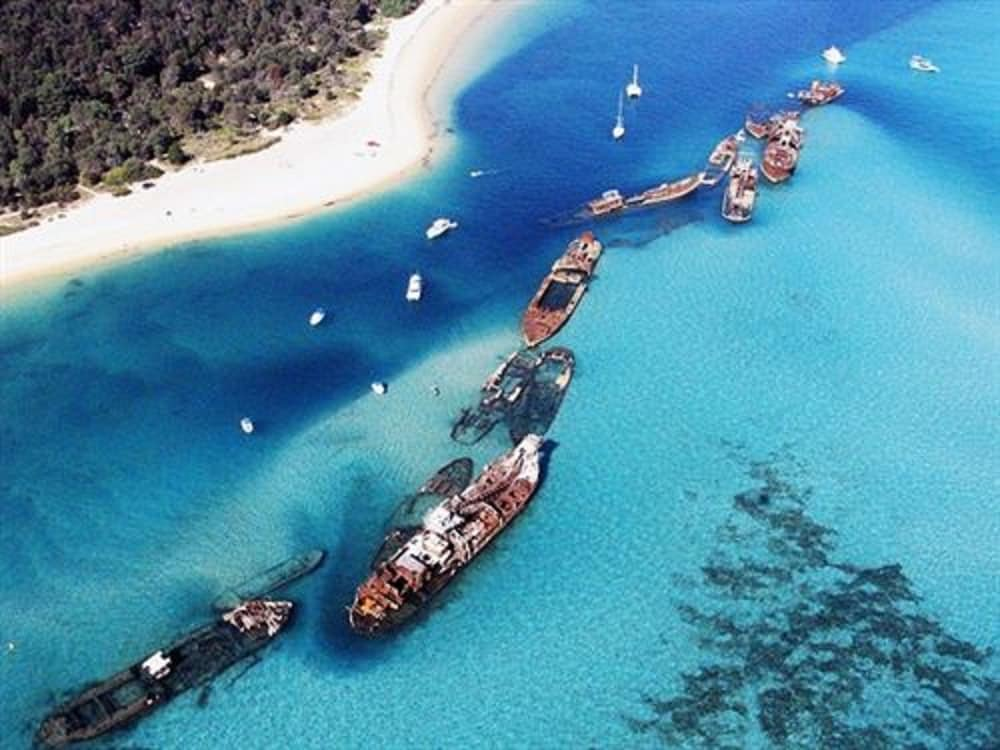 Boating, Tangalooma Island Resort