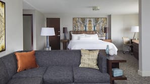 1 soverom, sengetøy av topp kvalitet, dundyner og senger med overmadrass