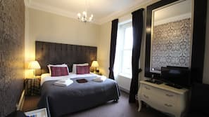 Select Comfort beds, in-room safe, individually decorated