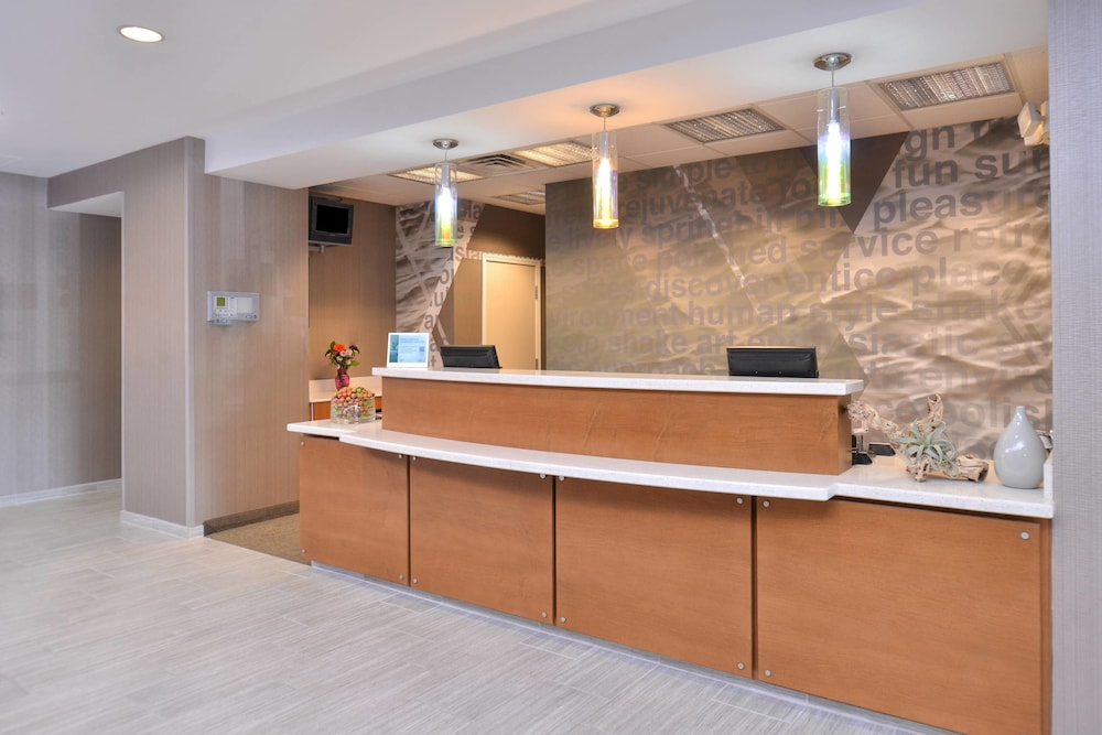 Lobby, SpringHill Suites by Marriott Roseville