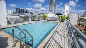 2 outdoor pools, open 8 AM to 8 PM, free pool cabanas, pool umbrellas