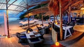 전용 해변, 백사장, 무료 해변 셔틀, 일광욕 의자