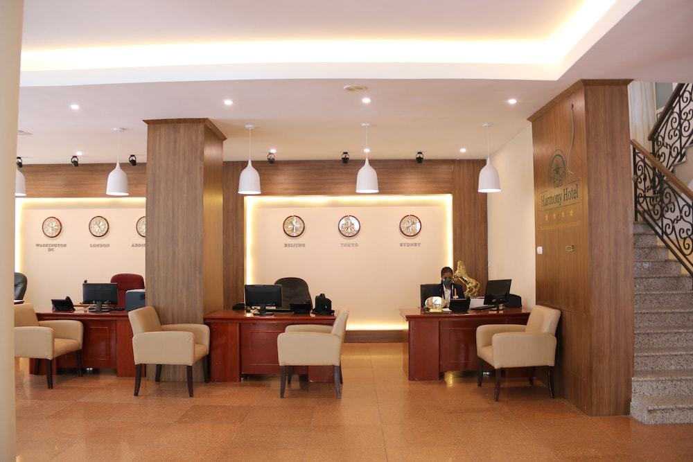 Reception, Harmony Hotel