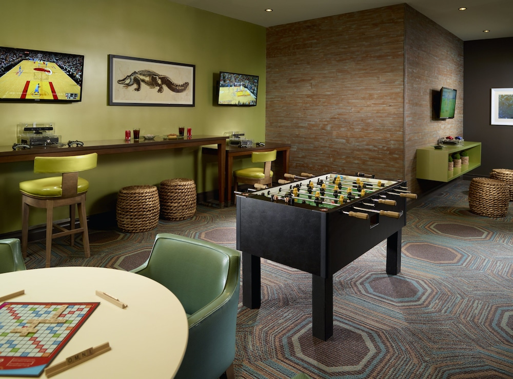 Game Room, Omni Amelia Island Resort