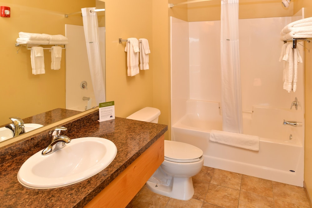 Bathroom, AmericInn by Wyndham Fargo Medical Center
