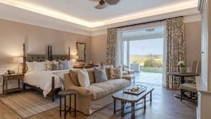 Premium bedding, Tempur-Pedic beds, free minibar items, in-room safe