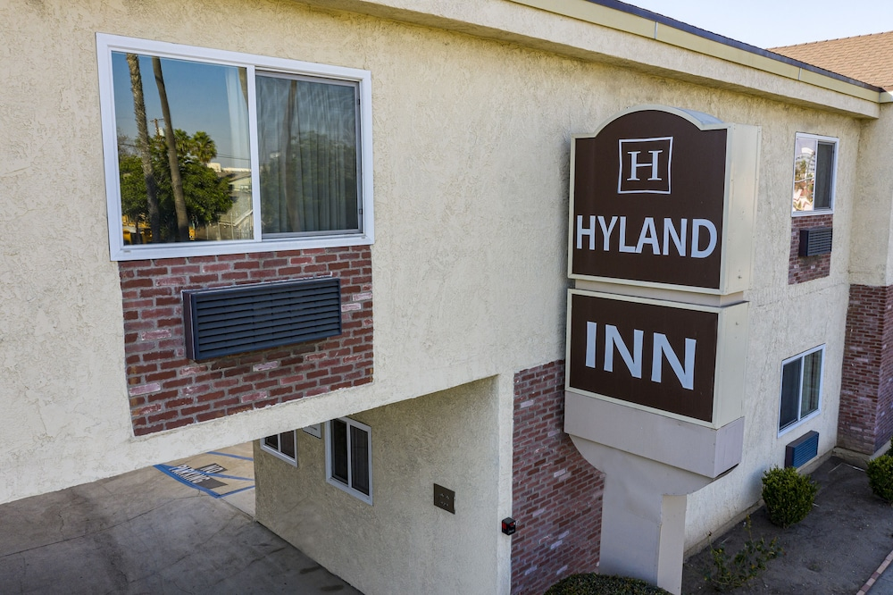 Front of Property, Hyland Motel Long Beach