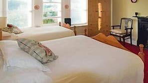 Egyptian cotton sheets, pillow-top beds, soundproofing, free WiFi