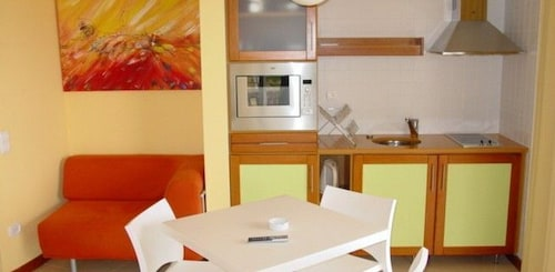 Private Kitchenette, Aparthotel Vila Luz