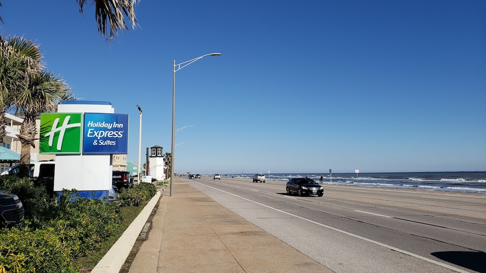 Front of Property, Holiday Inn Express Hotel & Suites Galveston West-Seawall