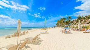 해변에 위치, 백사장, 무료 해변 셔틀, 무료 비치 카바나