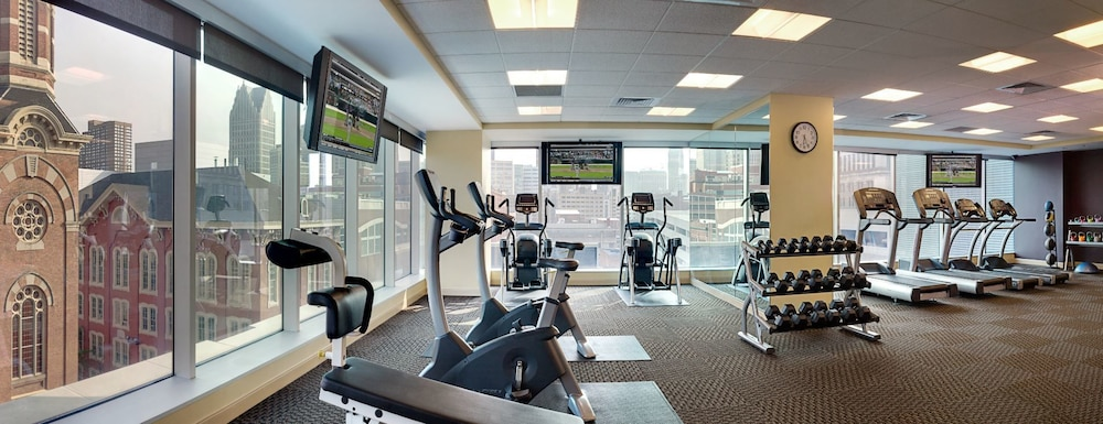 Gym, Greektown Casino Hotel