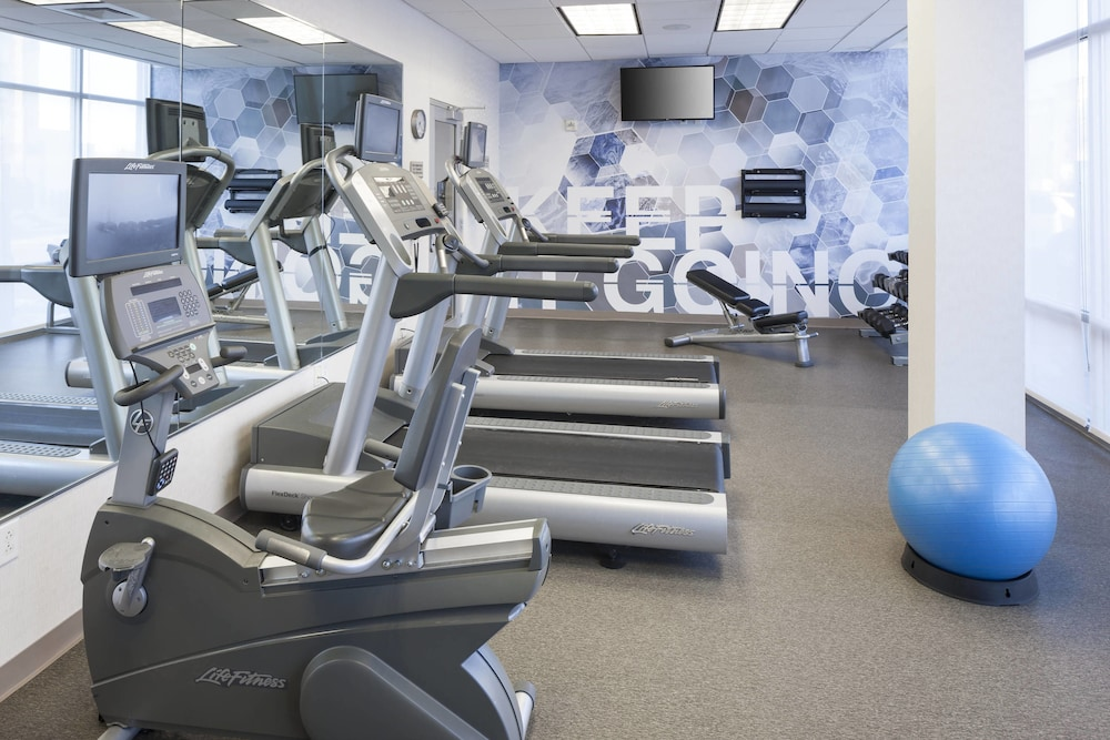 Fitness Facility, SpringHill Suites by Marriott Salt Lake City Airport