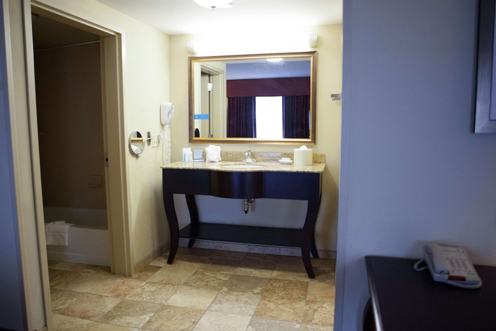 Bathroom, Hampton Inn Rochester Webster