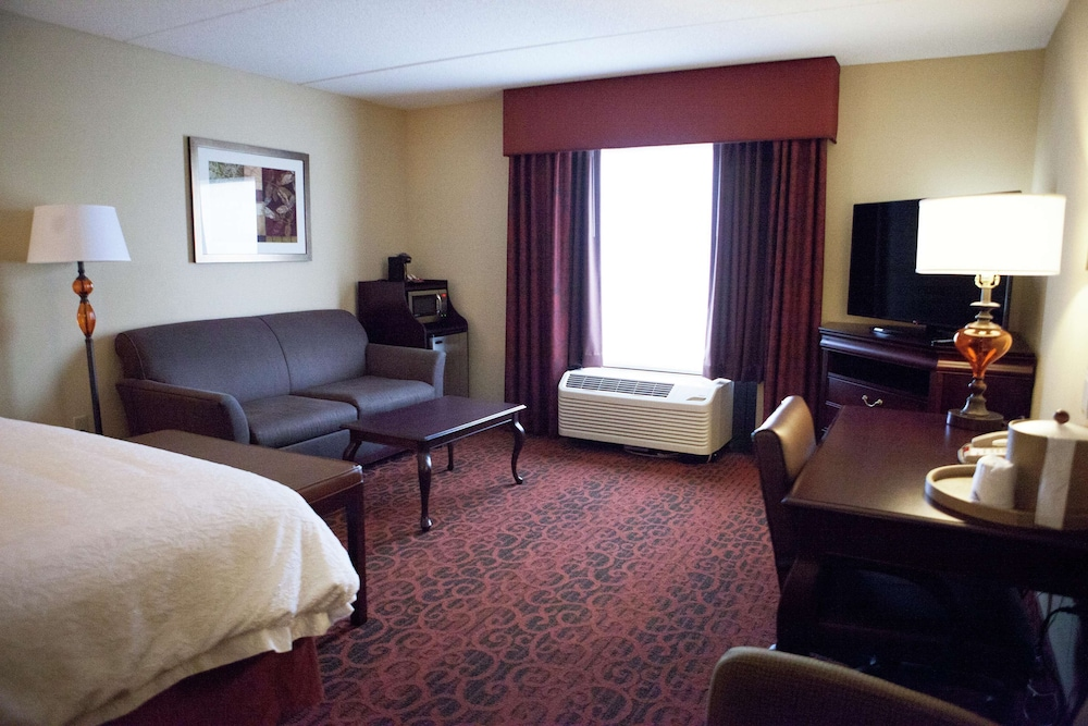 Living Area, Hampton Inn Rochester Webster