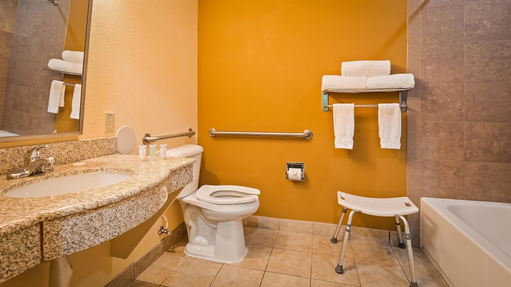 Bathroom, Best Western Plus Bradenton Gateway Hotel