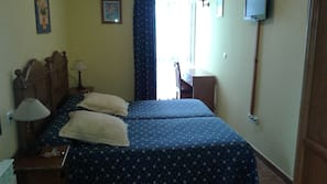 Premium bedding, blackout curtains, rollaway beds, free WiFi