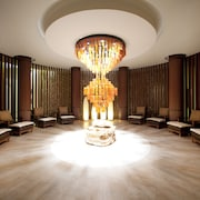 Recepção do spa