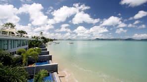 บนชายหาด, รถรับส่งชายหาด (ฟรี), เรือคายัค