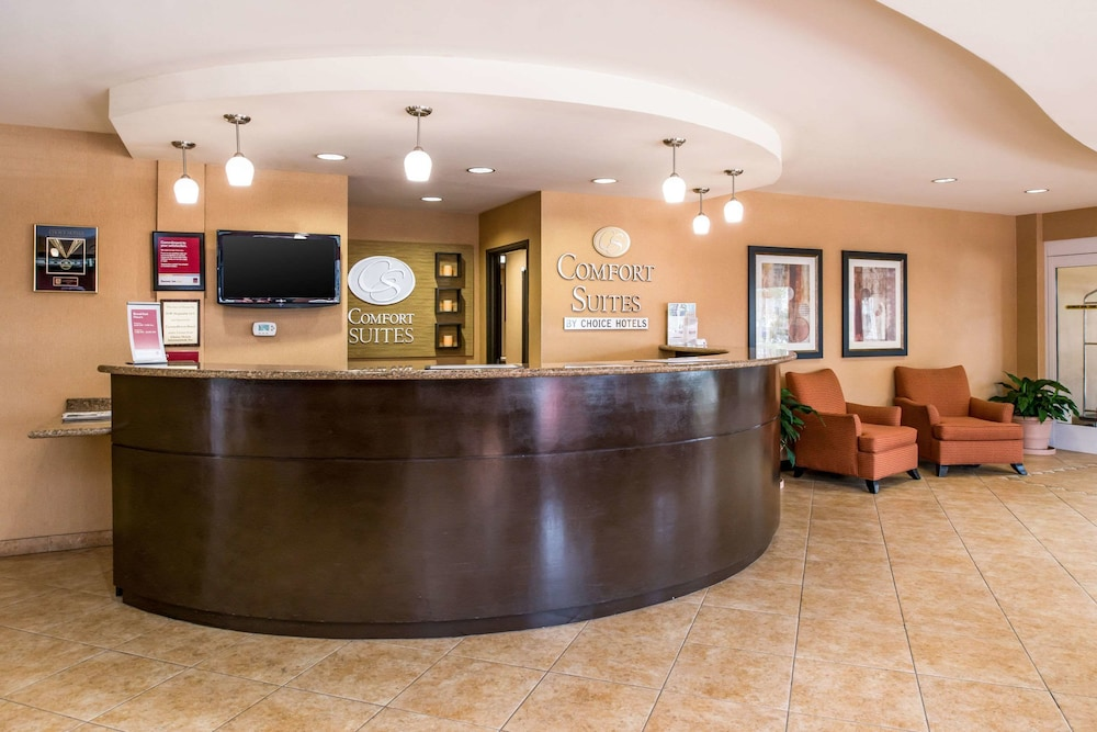 Lobby, Comfort Suites Ontario Airport Convention Center