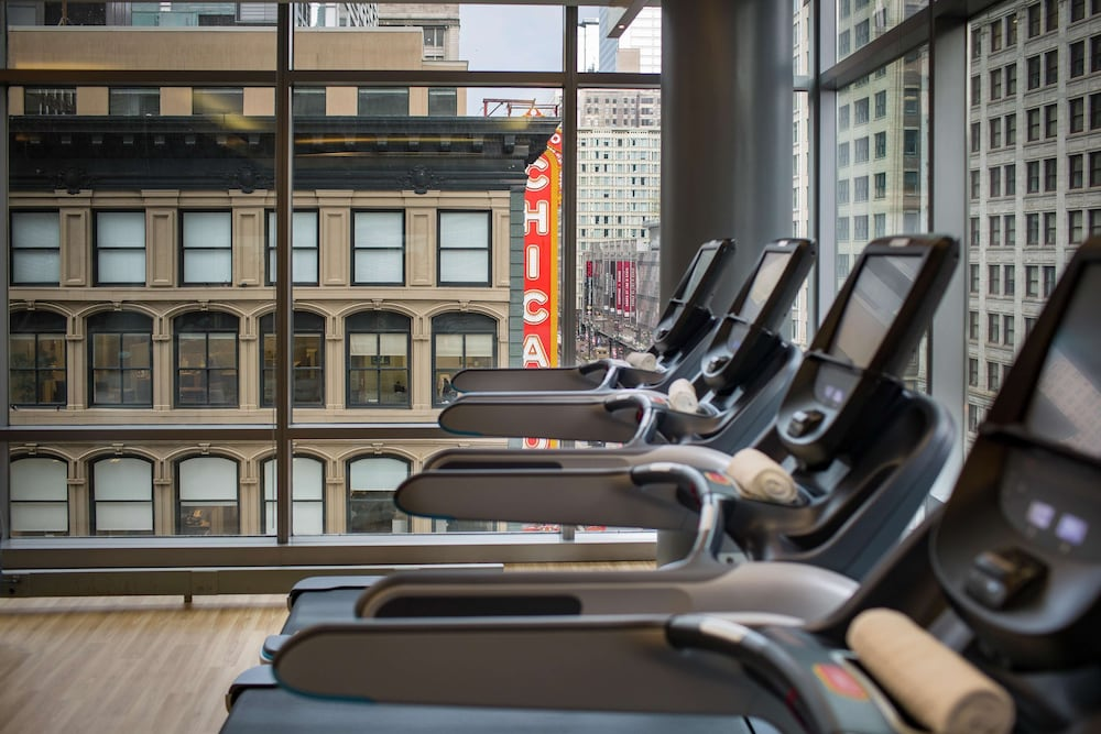 Fitness Facility, theWit Chicago - a DoubleTree by Hilton Hotel