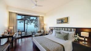Premium bedding, down comforters, Select Comfort beds, minibar