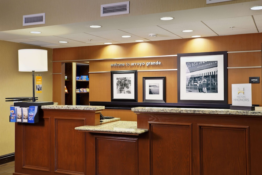 Reception, Hampton Inn & Suites Arroyo Grande/Pismo Beach Area