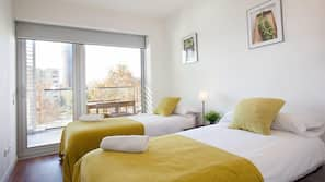 4 bedrooms, in-room safe, desk, soundproofing