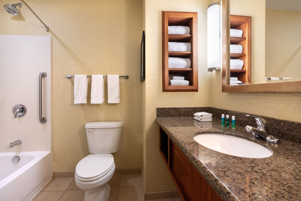 Bathroom, Holiday Inn Express Hotel & Suites Denver Airport