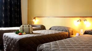 Coffre-forts dans les chambres, fer et planche à repasser sur demande