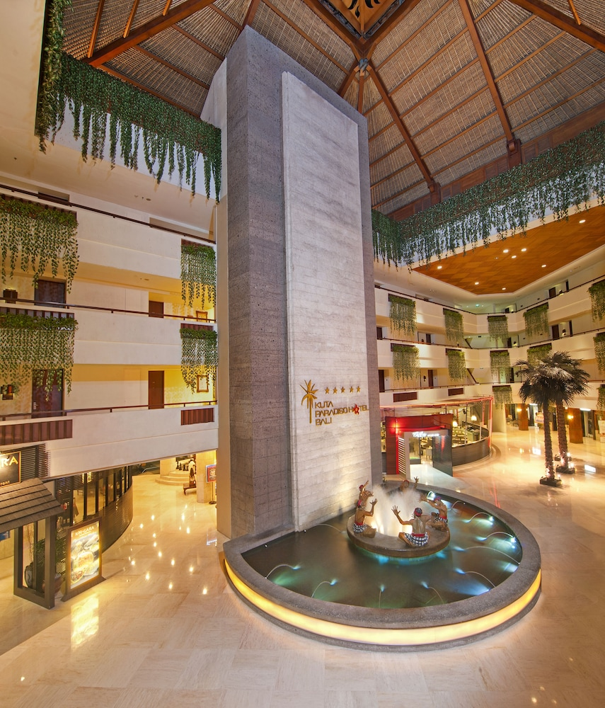 Kuta Paradiso Hotel 2018 Reviews Booking Voucher Bali Garden Beach Resort Superior Room With Breakfast Aerial View Featured Image Lobby