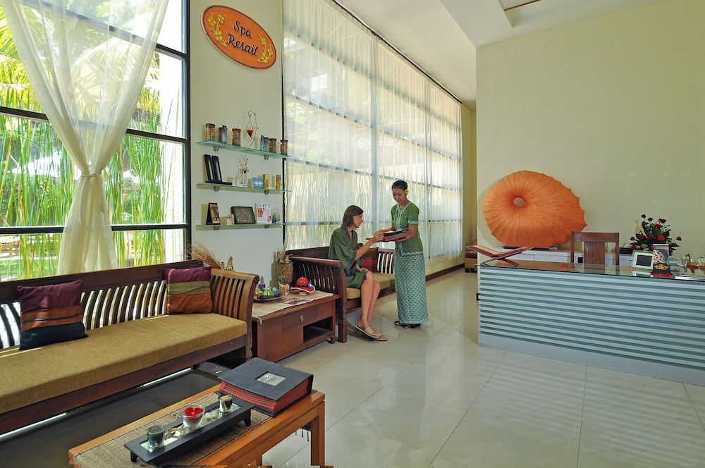 Spa Reception, Kuta Paradiso Hotel
