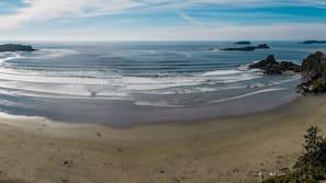Beach nearby, surfing