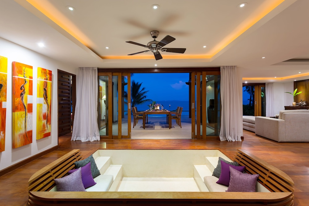 Living Area, The Village Coconut Island