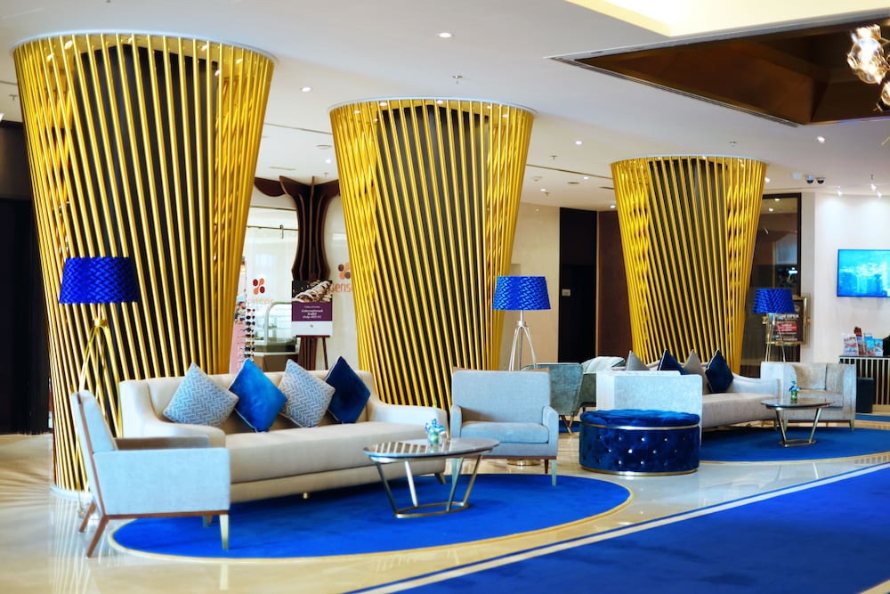 Lobby Sitting Area, Mercure Gold Hotel Al Mina Road Dubai
